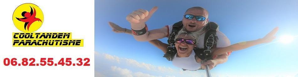 Cooltandem Parachutisme Baptême de saut en parachute