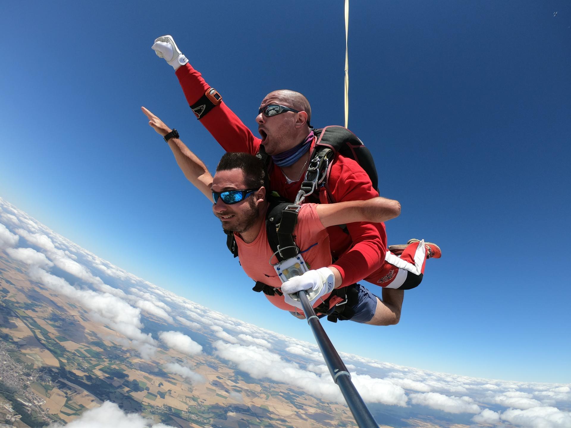 parachutisme cooltandem