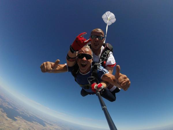 Cooltandem parachutisme & tous les voeux sont permis
