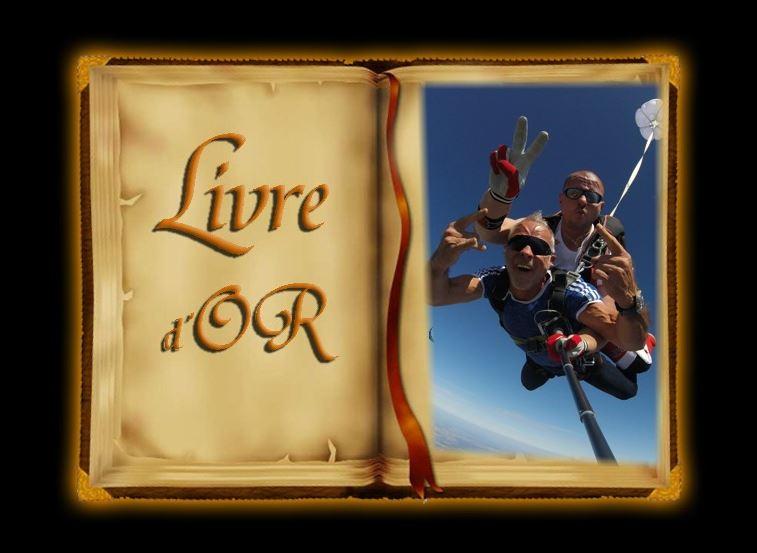 Livre d or cooltandem parachutisme