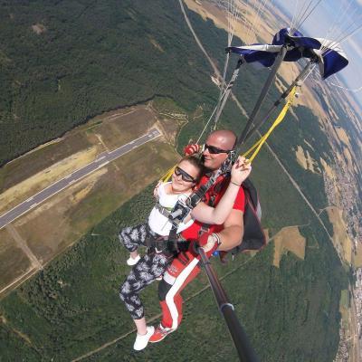Vertige et parachutisme